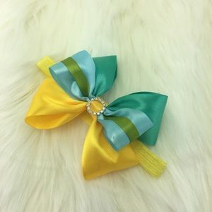 Handmade Princess Hair Bow Ribbon Headband